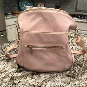 Full size Fawn Diaper Bag in Blush